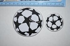 10221 UEFA CHAMPIONS LEAGUE Football Soccer Embroidered Iron-on Patch / Badge