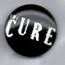 THE CURE - BUTTON BADGE ENGLISH ROCK BAND - GOTH - ROBERT SMITH 80s 90s