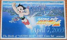 Japan 2003 Astro Boy yen coin set / KMS Japon Cartera Coffret