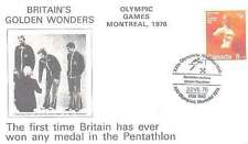 1976 Olympic Games Comm Cover Montreal Jim Fox, Adrian Parker, Danny Nightingale