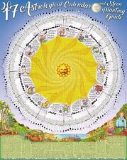 2017 Thomas Zimmer Poster Calendar - Astrological Almanac & Moon Planting Guide