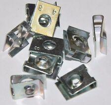 10x tuercas de chapa de acero (para tornillos de chapa 4,8 mm) BEF. - espesor 3-4mm galvanizado