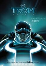 Tron the Junior Novel, Based on the New Disney Movie, (2010) 8 Pgs of Photos