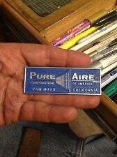 refrigerator emblem PURE AIRE CORPORATION OF AMERICA VAN NUYS CA  Appliance Cal