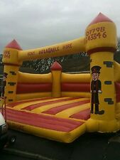 Commercial Bouncy Castle for hire 19ft by 15ft, mid wales and shropshire.