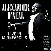 Alexander O'neal -Live In Minneapolis Cd Dvd CD NEW