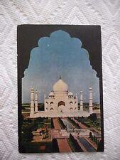 1963 Taj Mahal in Bombay, India