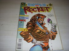 DC COMICS ROCKET  n° 22 1995 EXCITING NEW ERA FOR ROCKE