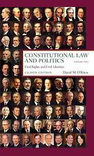 Constitutional Law and Politics, Vol. 2: Civil Rights and Civil Liberties, 8th