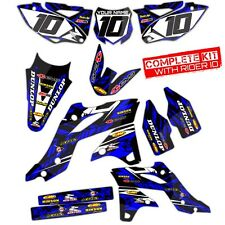 2003 2004 2005 YAMAHA YZ 250F / YZ450F GRAPHICS KIT MOTOCROSS DIRT BIKE DECALS