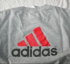 Mens Adidas Foot Locker 90s Vtg Trefoil Logo On Back T-Shirt Roomy Size Large L