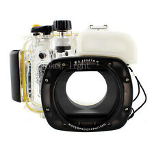 Meikon Underwater Housing Waterproof Diving Case for Canon G15 Camera
