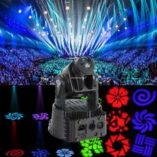 1x 15W LED RGB Mini Moving Head Club Dj Stage Light Lux Fan Cool Moving Licht
