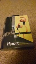 Brand New Monster Immersion iSport LIVESTRONG In-Ear Headphones Yellow