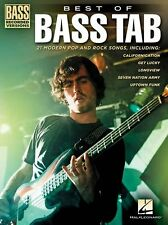BEST OF BASS Play GREEN DAY KINGS OF LEON TOOL Heavy Rock GUITAR TAB Music Book