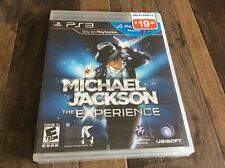 Michael Jackson: The Experience (Sony PlayStation 3, 2011) New Free US Shipping