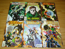 Day of Judgment #1-5 VF/NM complete series + secret files - the spectre 2 3 4