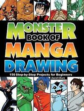 Monster Book of Manga Drawing: 150 Step-by-Step Projects for