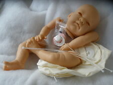 "REBORN BABY-DOLL KIT ""CELIA ""  EYES & LASHES + 20in DISK BODY+ PINK  DUMMY"