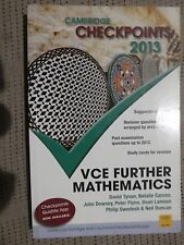 Cambridge Checkpoints VCE Further Mathematics 2013 by John Dowsey, kb2