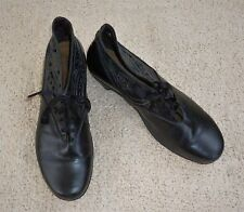 NAOT black leather upper and lining ankle boots, Size 41, As New!
