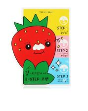 TONY MOLY   Strawberry Nose Pack 3-step runaway strawberry seeds 3-step