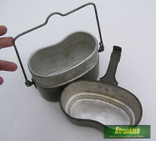 POLAND POLISH ARMY OUTDOOR CAMPING COOKSET COOK SET MESS TINS 1970s/80s