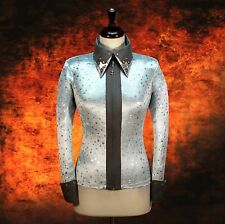 LARGE Showmanship Western Horsemanship Show Jacket Shirt Rodeo Queen Pleasure
