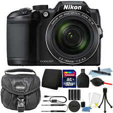 Nikon Coolpix B500 16MP Point and Shoot Camera with 32GB Accessory Kit