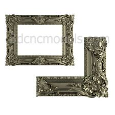 (551) 3d model for cnc Frame Mirror stl relief artcam vectric aspire printer