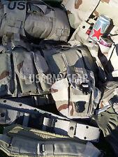 New Desert MOLLE II Rifleman Set DCU Rucksack FLC Canteen Ammo Pouches Hydration