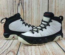 2010 Air Jordan 9 Retro OG White Black GS Size 4Y (302359-102) Boys and Girls