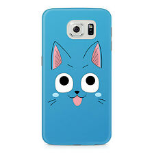 Fairy Tail Happy Cat Samsung Galaxy S6 Hard Plastic Case Anime Cosplay