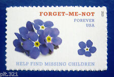 Sc # 4987 ~ Forever Stamp ~ Missing Children Forget Me Not Issue