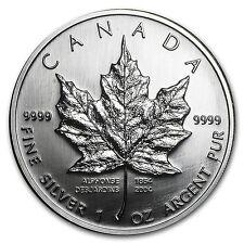 2004 Canada 1 oz Silver Maple Leaf (Desjardins 150th Ann) - SKU #62694