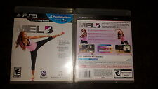 Get Fit With Mel B Sony PlayStation 3 2010 NO DISK ONLY INSTRUCTIONS and case