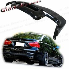 Carbon Fiber 3D Style Rear Diffuser BMW 06-11 E90 325i 335i Sedan M-Tech Bumper