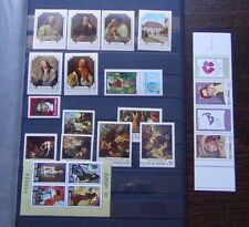 Romania 1970 1996 issues Europa Paintings Beethovan Stamp Day etc MNH