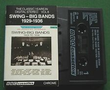 Swing Big Bands 1929/36 Vol 8 Dorsey Brothers Earl Hines + Cassette Tape TESTED