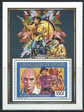Movie Star - Yul Brynner  MNH Souvenier Sheet - From Guinee