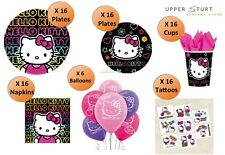 Hello Kitty MEGA Party Pack 86 Piece 16 Person Party Supplies FREE DELIVERY