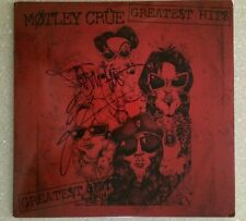 Motley Crue Greatest Hits LP Record Album Signed By Tommy Lee & Vince Neil!