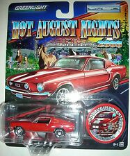 1968 Ford Mustang Fastback Five Hot August Nights 2008 Greenlight 1:64 scale