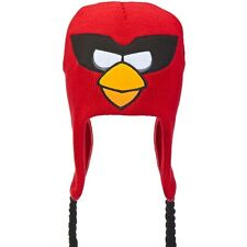 Angry Birds - Super Red Bird Big Face Peruvian Knit Hat