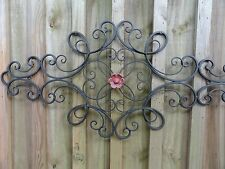 Cottage Chic, Iron Metal Wall Decor, wall art, Shabby and Chic, Garden Decor