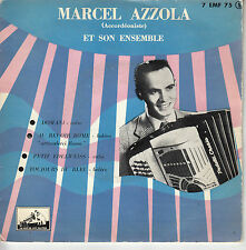 45TRS VINYL 7''/ FRENCH EP MARCEL AZZOLA / ACCORDEON / ARRIVEDERCI ROMA + 3