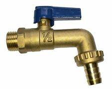 Heavy Duty Brass Lever Outside Tap - 1/2 Inch