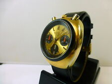 1970s GENTS CITIZEN BULLHEAD CHRONOGRAPH AUTO/DAY DATE IN GOOD CONDITION