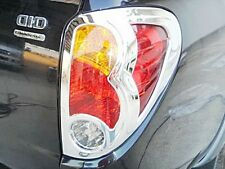 CHROME TAIL LIGHT LAMP COVER TRIM PAIR FOR MITSUBISHI L200 TRITON 2005-12 PICKUP