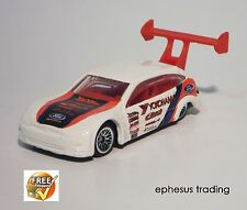 2002 Hot Wheels Tuners FORD Focus MK1 Coupe White w/Red #063 1/4 54357 1/64 MINT